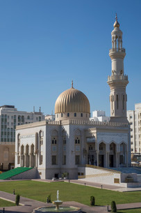 Zawawi Mosque, Muscat, Oman, Middle Eastの写真素材 [FYI03760903]