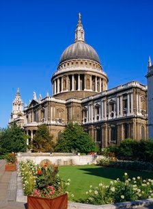 St Paul's Cathedralの写真素材 [FYI03761546]