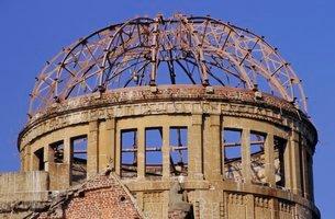 Atomic Dome Memorial, Hiroshima, Japanの写真素材 [FYI03761549]