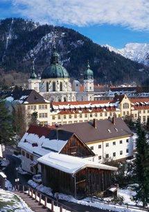 Ettal Monastery, Bavariaの写真素材 [FYI03761557]