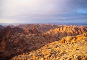 Mt Sinai, Sinai Desertの写真素材 [FYI03761804]