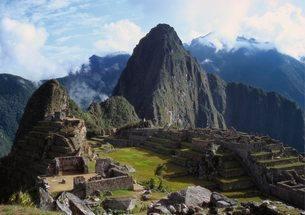 Machu Picchu, Peruの写真素材 [FYI03761818]