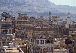 Sanaa, Yemenの写真素材 [FYI03761988]