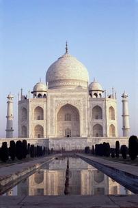 The Taj Mahal, Agra, Uttar Pradesh stateの写真素材 [FYI03762004]