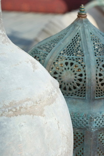 Arabian pots, Dubai, United Arab Emirates, Middle Eastの写真素材 [FYI03762063]