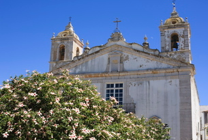 Igreja de Santa Maria, Lagos, Algarveの写真素材 [FYI03762131]