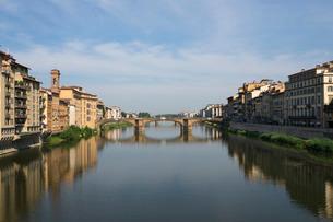 Ponte S. Trinita, Florence, Tuscanyの写真素材 [FYI03762351]