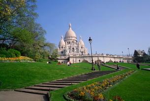 Sacre Coeur, Montmartre, Parisの写真素材 [FYI03762394]