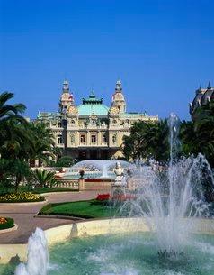 Grand Casino de Monte Carlo, Monte Carlo, Monacoの写真素材 [FYI03762487]