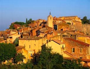Roussillon Villageの写真素材 [FYI03762701]