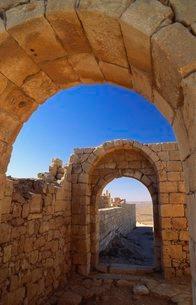 Avdat, Israel, Middle Eastの写真素材 [FYI03762890]