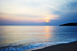 Racou Beach, Pyrenees Oriental, Languedoc-Roussillonの写真素材 [FYI03763028]