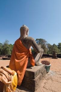 Leper King Terrace, Angkor Thom, Angkor, Siem Reap, Cambodia, Indochina, Southeast Asiaの写真素材 [FYI03763133]