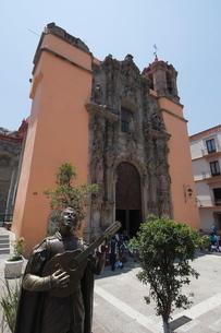 Church of  Iglesia de San Diego in Guanajuato, a , Guanajuato State, Mexico'の写真素材 [FYI03763226]