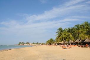 Beach at Saly, Senegalの写真素材 [FYI03763350]