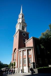 Park Street Church, Boston, Massachusetts, New England'の写真素材 [FYI03763564]