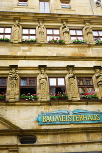 Master Builders House, Rothenburg ob der Tauber, Romantic Road, Franconia, Bavariaの写真素材 [FYI03763719]