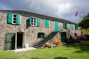 Museum of Nevis History, Charlestown, Nevis, St. Kitts and Nevis, Leeward Islands, Caribbeanの写真素材 [FYI03763734]