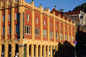 Hanseatic museum building, Bryggen, Bergen, Norway, Hordaland, Scandinaviaの写真素材 [FYI03763843]