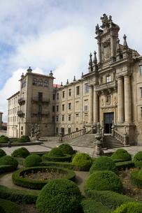 Monastery of San Martin Pinario, Santiago de Compostela, Galiciaの写真素材 [FYI03764168]