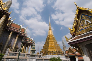 The Grand Palace, Bangkok, Thailand, Southeast Asiaの写真素材 [FYI03764452]