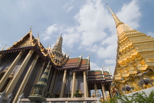 The Grand Palace, Bangkok, Thailand, Southeast Asiaの写真素材 [FYI03764453]
