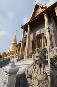 The Grand Palace, Bangkok, Thailand, Southeast Asiaの写真素材 [FYI03764455]