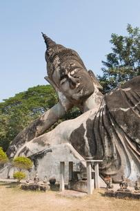 Buddha Park, near Vientiane, Laosの写真素材 [FYI03764494]