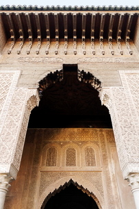 Saadian tombs dating from the 16th century, Marrakeshの写真素材 [FYI03764591]
