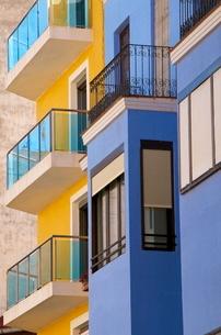 Apartments, Alicante, Valencia provinceの写真素材 [FYI03764600]