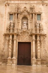 Santa Maria church, San Roque quarter, Alicante, Valencia provinceの写真素材 [FYI03764625]