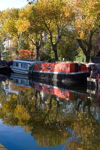 Regent's Canal at Little Veniceの写真素材 [FYI03765005]
