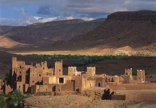 Fort of Ait Benhaddou, Ouarzazateの写真素材 [FYI03765471]