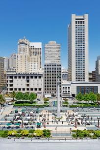Union Square, San Franciscoの写真素材 [FYI03765559]