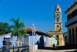 Santa Ana church, Trinidad, Sancti Spiritus, Cubaの写真素材 [FYI03765866]