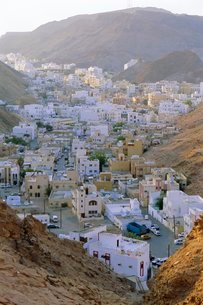 The old quarter, Muscat, Oman, Middle Eastの写真素材 [FYI03765892]