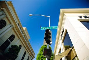 Rodeo Drive, Los Angeles, California, USAの写真素材 [FYI03765996]