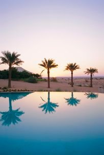 Al Maha Hotel, Dubai, United Arab Emiratesの写真素材 [FYI03766001]