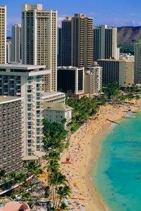 Honolulu, Hawaii, USAの写真素材 [FYI03766021]