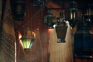 Lanterns, Marrakechの写真素材 [FYI03766098]