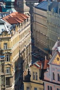 Streets of Prague, Czechoslovakian Republicの写真素材 [FYI03766282]
