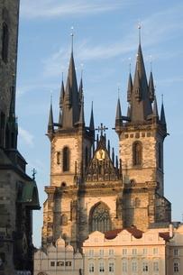 Old Town Square, Prague, Czechoslovakian Republicの写真素材 [FYI03766303]