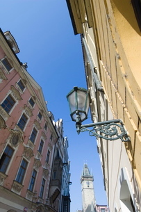 Narrow Streets, Prague, Czechoslovakian Republicの写真素材 [FYI03766311]