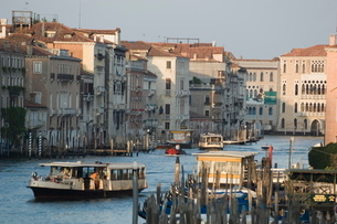 Public Boat Stops, Veniceの写真素材 [FYI03766317]