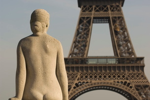 Eiffel Tower, Parisの写真素材 [FYI03766386]