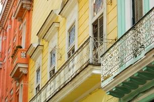 Balcony, Havana, Cubaの写真素材 [FYI03766462]