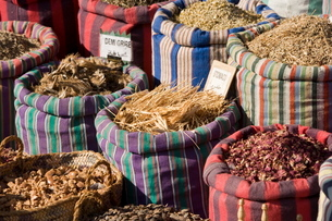 Spices at market, Cairoの写真素材 [FYI03766568]