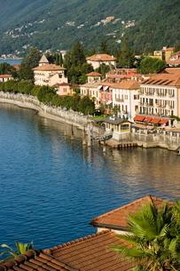 Cannero Riviera, Lake Maggiore, Piedmont (Piemonte), Italian Lakesの写真素材 [FYI03766573]