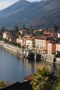 Cannero Riviera, Lake Maggiore, Piedmont, Italian Lakesの写真素材 [FYI03766693]