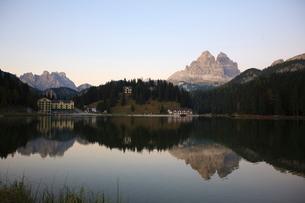 Misurina, Dolomitesの写真素材 [FYI03766797]